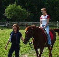 Катание на лошадях полезно для здоровья