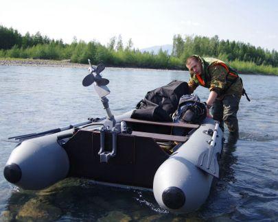 Надувные лодки для рыбалки и охоты.