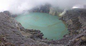 Кислотные озера острова Ява