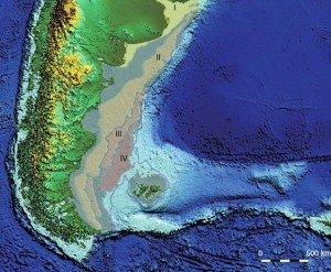 Южная Америка и её материковое ложе