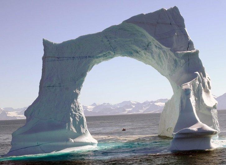 Айсберги — ледяное чудо природы