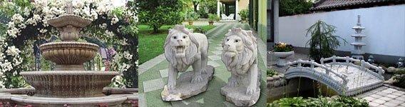 Изделия из натурального камня для природной красоты сада
