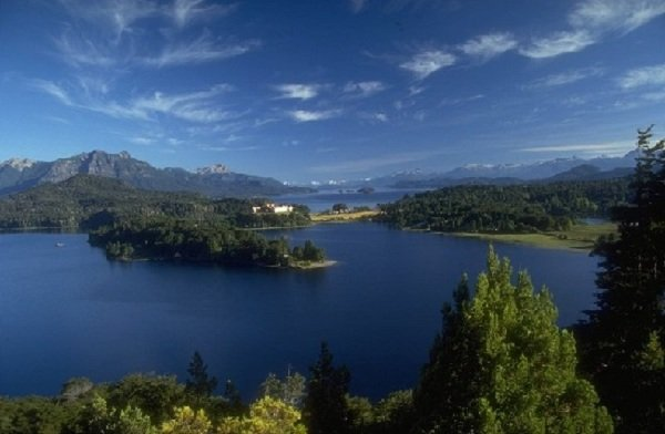 Самые красивые озера мира фото Озеро Аргентино, Аргентина