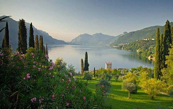 Самые красивые озера мира фото Озеро Комо, Италия