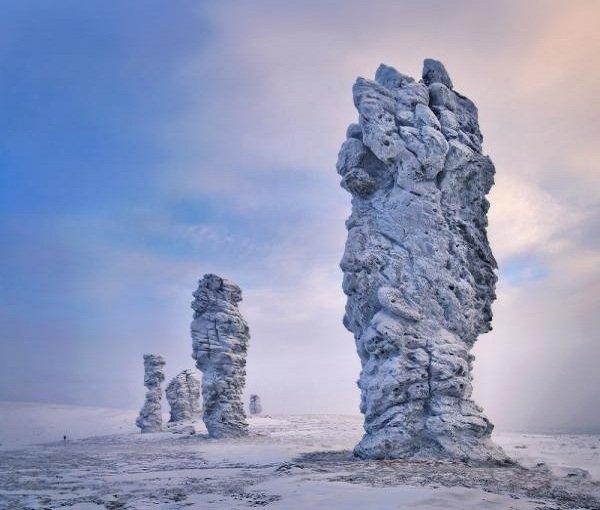 Самые необычные горы планеты - Маньпупунер