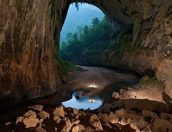 Самая большая пещера в мире ханг сон