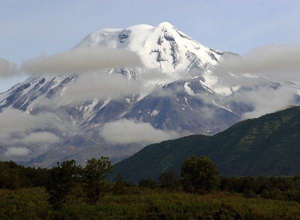 Действующие вулканы России - Ичинская сопка