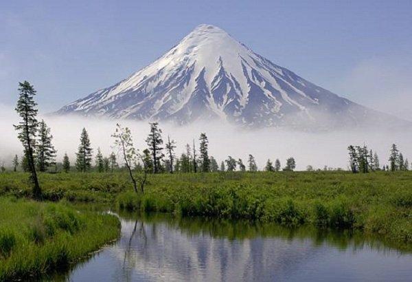 Действующие вулканы России - Кроноцкая сопка