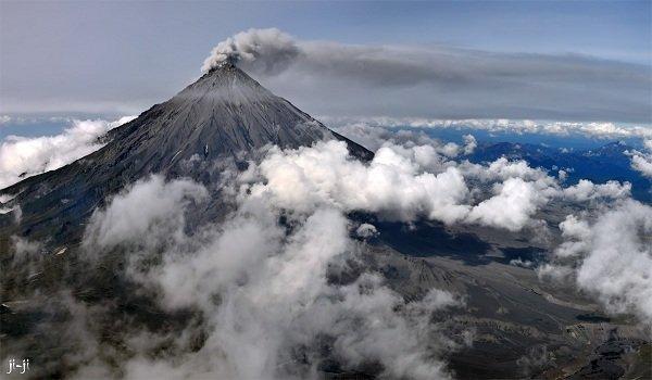Действующие вулканы России - Коряцкий вулкан