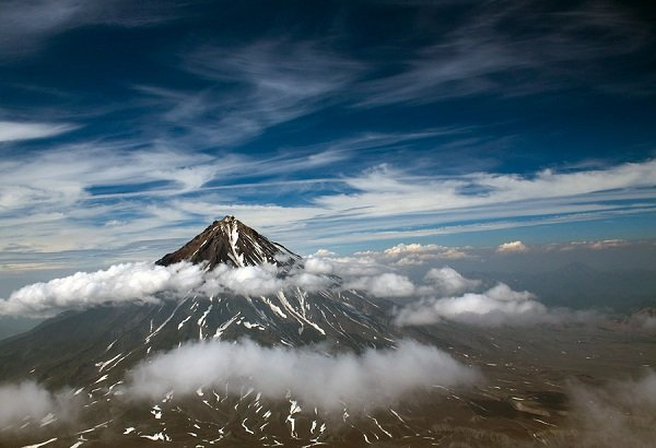 Действующие вулканы России - вулкан Авача