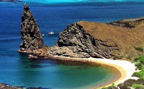 Галапагосские острова в Тихом океане
