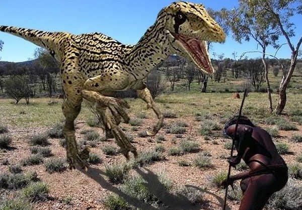 тираннозавр в Африке