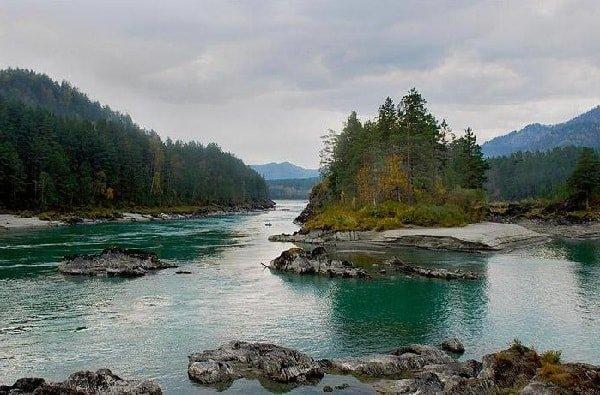 Реки Алтая - Катунь