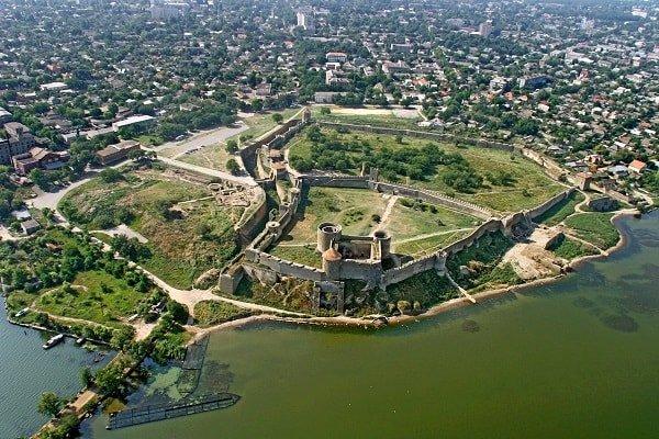 Загадочные места России - крепость Днестровская