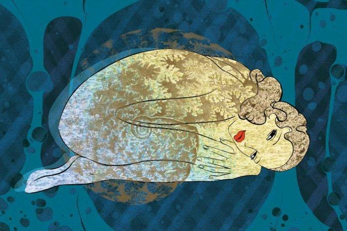 Стеклянные шедевры, или поэзия цвета и линий: хрупкие творения Аннaбель Верхoйе