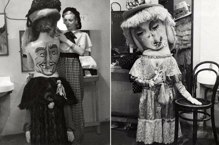 Забавные человечки: винтажный боди-арт 1930-х годов