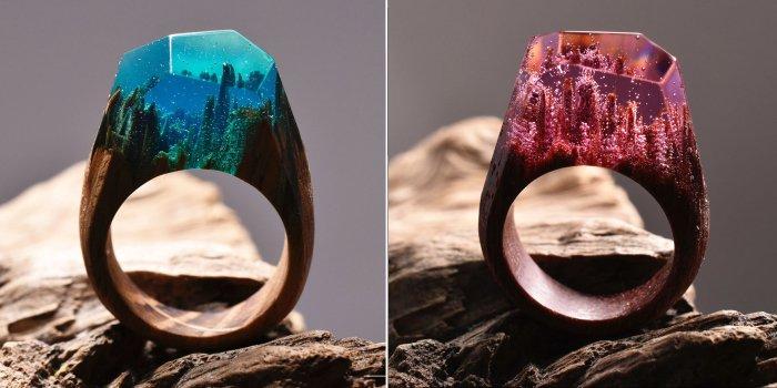 Тайна внутри кольца: потрясающие авторские украшения ручной работы
