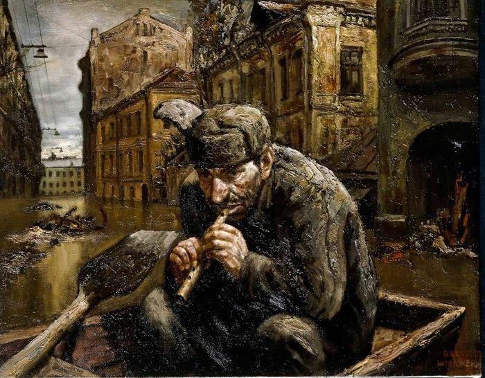 Скандальные картины Василия Шульженко о российской глубинке