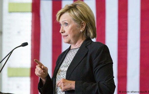Отправленные с личного сервера письма не имели грифа «секретно» – Клинтон