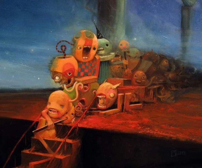 Корпорация монстров: сарказм, безудержная фантазия или воспалённое воображение?
