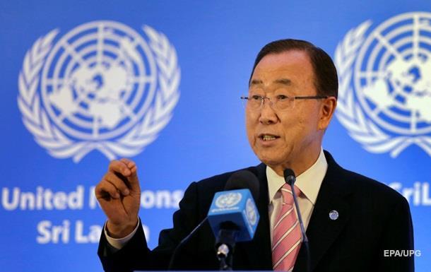 Пан Ги Мун призвал к полному выполнению «Минска»
