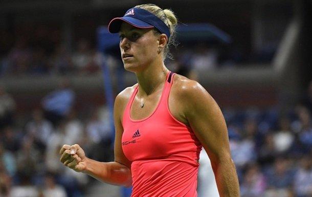 Анжелик Кербер — вторая финалистка US Open!