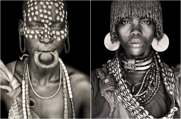 «Сыновья ветра»: 11 тёплых чёрно-белых портретов, раскрывающих естественную красоту кочевых племен Африки
