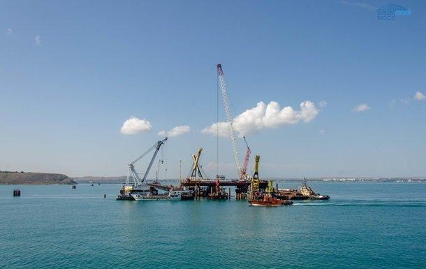 Из-за строительства Керченского моста гибнут дельфины — МИД