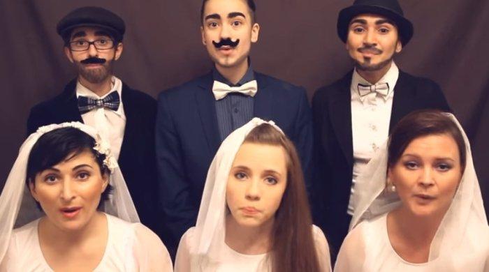 Кавер-версия «Свадебного марша» Мендельсона в исполнении акапелла-группы U LIKE