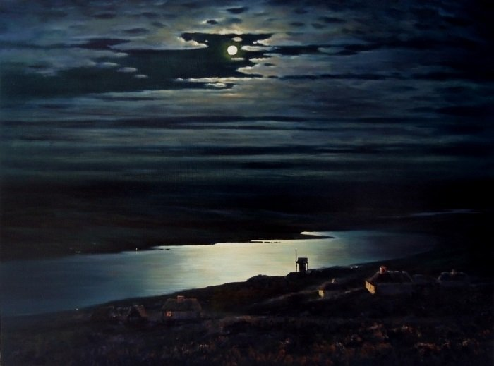 «Лунная ночь на Днепре»: мистическая сила и трагическая судьба картины Архипа Куинджи