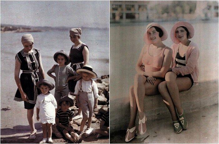 Ретро мода: как менялись купальные костюмы в период 1900 — 1920 годов
