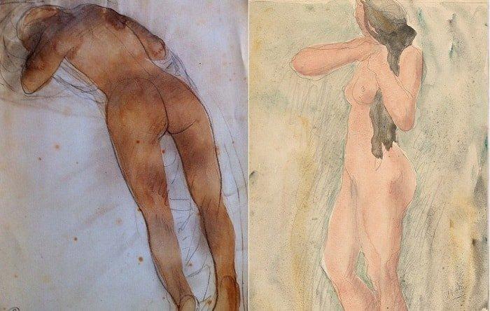 «Чувственный экстаз»: эротические рисунки великого скульптора Огюста Родена