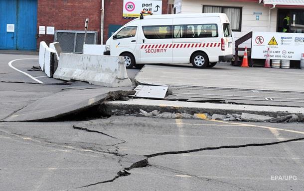 В Новой Зеландии второе мощное землетрясение