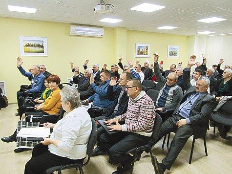 Калужские охотники провели отчетно-выборную конференцию