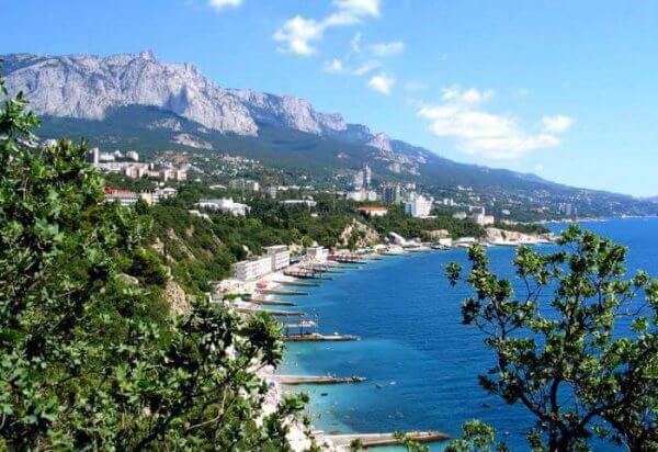 Лучшие места для отдыха в Крыму.