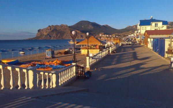 Лучшие места для отдыха в Крыму. Коктебель.