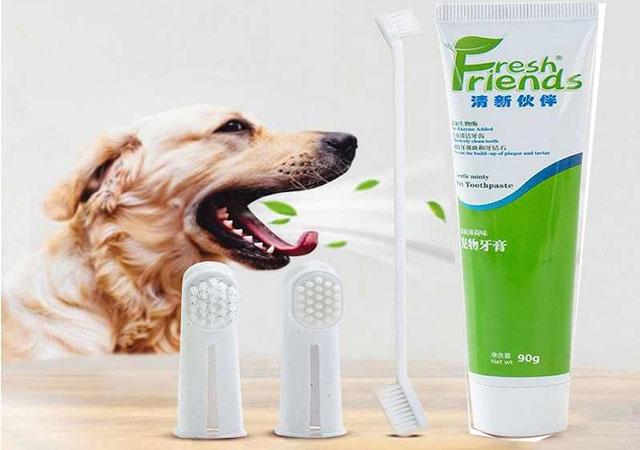 Зубная паста для собак.